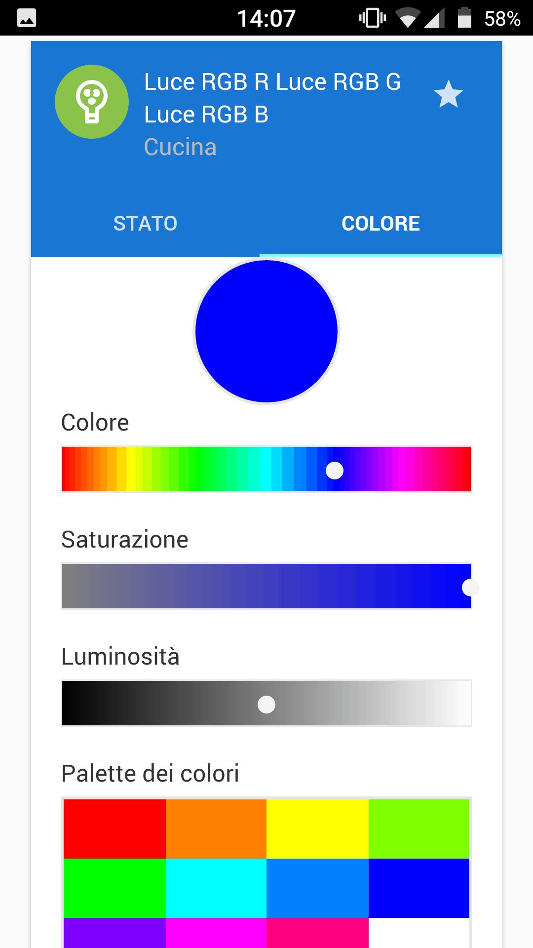 Luce RGB - FEB Home