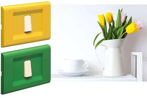 placche serie click - FEB Elettrica