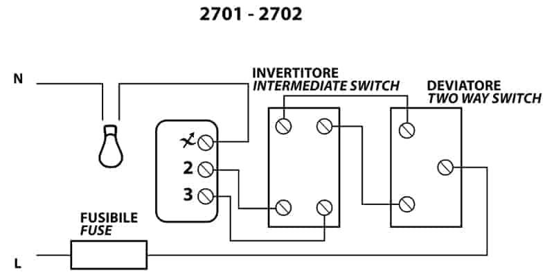 Schema Elettrico Di Un Deviatore : Schema elettrico deviatore invertitore