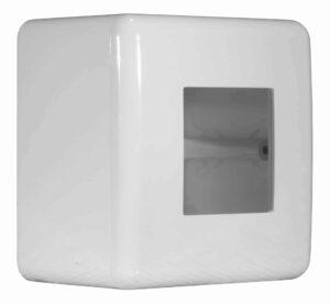 Scatola multi-serie da parete 2 moduli IP40 grigia